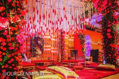 Magnificent Mandap - Wedding Design by Gurleen M Puri Reception Stage Decor, Wedding Reception, Luxury Wedding, Dream Wedding, Wedding Designs, Wedding Ideas, Traditional Wedding Decor, Wedding Preparation, Mumbai