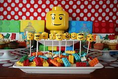 Elegant Affairs: Lego Birthday Party