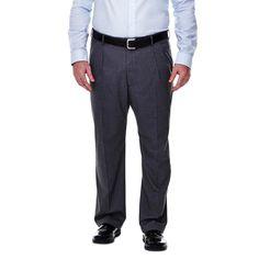 Haggar H26 - Men's Big & Tall Classic Fit Stretch Suit Pants