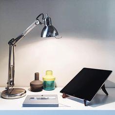 Laptop Stand, Tablet Stand, Desk Essentials, Studio Desk, Ipad Pro, Macbook Pro, Desk Lamp, Interior Styling, Minimalism