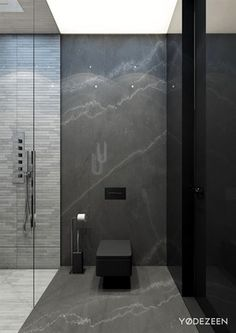 Versatile interior of a spacious residence in Kiev on Behance #ModernBathroomDesign