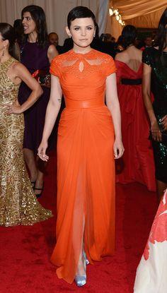 Ginnifer Goodwin/ Monique Lhuillier/ The Met Gala 2012