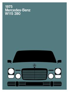 Mercedes-Benz W115 280C, 1975