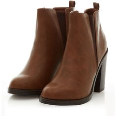 Tan Contrast Split Side Chelsea Shoe Boots ($17) ❤ liked on Polyvore featuring shoes, boots, ankle booties, zapatos, ankle boots, botas, round toe ankle boots, bootie boots, tan ankle booties and tan boots