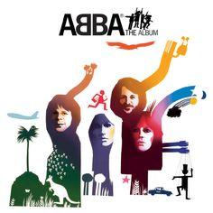 """Album Cover - ABBA, """"The Album"""""""