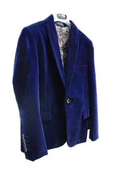|Navy| Visit our site to see a range of these beautiful velvet jackets.