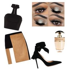 """""""Untitled #3"""" by aieasham on Polyvore featuring River Island, Prada and Gianvito Rossi"""