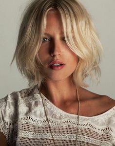 // blonde elegance