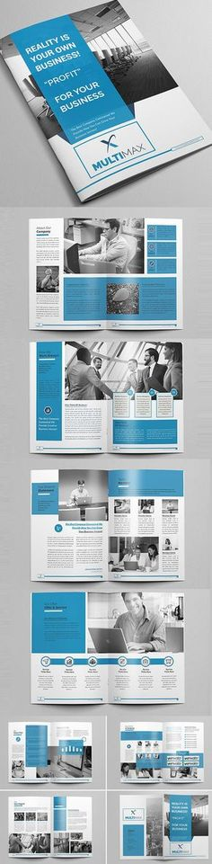 Business infographic & data visualisation Business infographic : New Brochure Templates Catalog Design Graphic Design Brochure, Corporate Brochure Design, Creative Brochure, Brochure Layout, Business Brochure, Brochure Template, Print Layout, Layout Design, Design Design