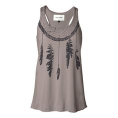 Fab.com | Women's Tanks To Fall For - feathers