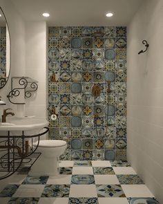 √ Fascinating Bathroom Tile Decorating Ideas With Images In 2019 Best Bathroom Tiles, Bathroom Renos, Bathroom Wall Decor, Bathroom Styling, Bathroom Renovations, Upstairs Bathrooms, Large Bathrooms, Amazing Bathrooms, Small Bathroom
