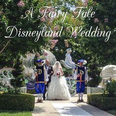 "A True ""Guest"" Post: Karen and Ryan's Fairy Tale Disneyland Wedding"