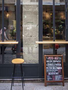 Frenchie – Content Design Lab Bacon Sandwich, Window Signs, Ginger Beer, Scones, Granola, Latte, Sandwiches, Design Lab, Content