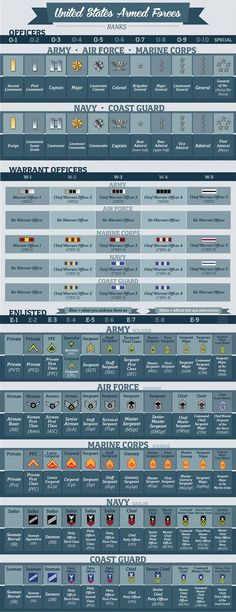 Info Chart for Armed Forces