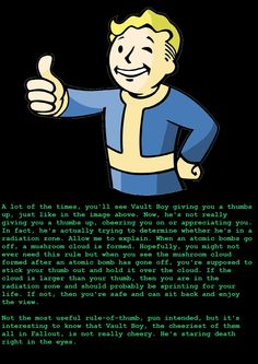 Oh fallout you dark beautiful beast, my love for you will be eternal