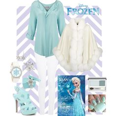 Frozen-I really like the cape  Considering I love this movie, this stuff is made for me! No doubt about it