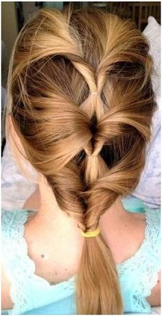 Original hairstyle in 5 minutes. Result. http://beauty-health.info