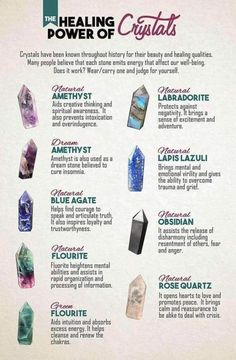 The Healing Power of Crystals #HealingMeditation