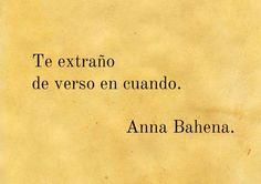〽️ Anna Bahena...