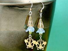 FREE Ideas : Artbeads.com - Gossamer Butterfly Earrings