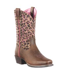 Ariat laarzen voor meisjes tijgerprint 10911 legend distressed
