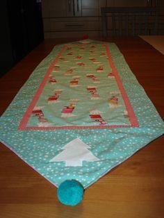 Santas Laundry Table Runner by SewcialStudies101 on Etsy, $25.00