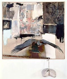 Robert Rauschenberg - Canyon - 1959