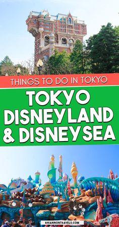 Two Days at Tokyo Disneyland and DisneySea | Japan Travel | Rhiannon Travels