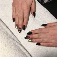 #black #nails