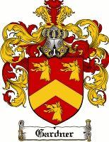 Gardner Coat of Arms / Gardner Family Crest