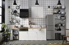 Ikea Keuken Onderkast : Knoxhult keuken wit keukens door de basements