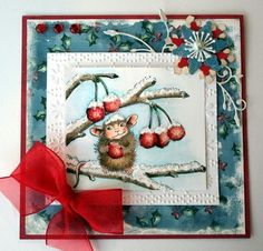 House Mouse card #diy #crafts