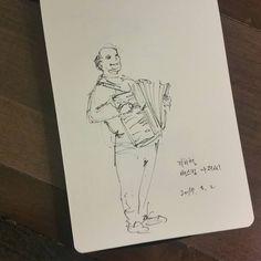 #반나절 #Gaudi #tour in #barcellona #그림그리는남자 #비정규직일러스트레이터 #그림스타그램🎨 #일러스타그램 #감성폭발 #일상 #펜 #수채화 #유화 #드로잉 #일러스트 #TemporaryIllustrator #daylife #pen #watercolor #oilpainting #drawing #painting #illustration