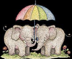 Elephants. ❣Julianne McPeters❣ no pin limits