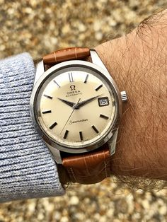 Omega Seamaster second hand men's 1963 watch Omega SeamasterYou can find Vintage watches and more on our website.Omega Seamaster second hand men's 1963 watch Omega Seamaster Amazing Watches, Cool Watches, Watches For Men, Stylish Watches, Punk Art, Patek Philippe, Cartier, Omega Seamaster Automatic, Luxury Watches