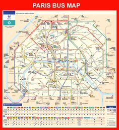 map of paris attractions | Tour of Paris, France | Must see ...