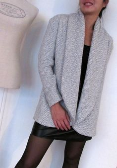 Oh Aime comme Madawan !: Mydress-made Sewing Clothes, Diy Clothes, Clothes For Women, Aime Comme Marie, Look Fashion, Womens Fashion, Diy Vetement, Couture Sewing, Winter Wear