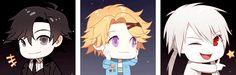 """zorya: """"various mystic messenger emojis """""""