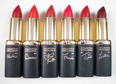 Red Lipstick Lovers, L'Oréal's Pure Reds Collection Was MADE For You. Six limited-edition shades of scarlety goodness.