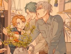 grafika v, zen, and mystic messenger