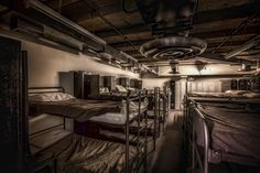https://flic.kr/p/xuMukK | nuclear bunker sick bay | Might have to go back here soon, not too many shots to be had but this was one of my favourites, the Nuclear Bunker Sick Bay. My #Instagram Profile if we haven't connected yet :) instagram.com/arthakkerphotography/