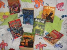 My Harry Potter Book Collection