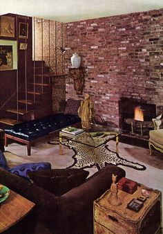 Remember when on pinterest 1970s seventeen magazine and for 1970s living room interior design