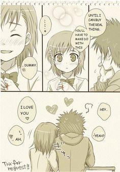 To Aru Majutsu no Index - Kamijou & Mikoto are a little embarrassed 04