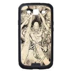 Cool classic vintage japanese demon ink tattoo samsung galaxy SIII cover with Custom Name Iphone 5 Cases, Iphone 4, Japanese Poster, Cool Cases, Samsung Galaxy Cases, Vintage Japanese, Cool Gifts, Tech Accessories, Oriental
