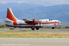 """(T-121) Consolidated PB4Y-2 """"Privateer"""" (N2871G) Hawkins & Powers Aviation Inc's, Air Tankers (1)"""