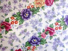 Vintage Wrapping Paper - Flower Line Gift Wrap - All Occasion Full sheet. $5.00, via Etsy.