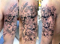 Spiderman & Wolverine THE TATTOO SHOP MILANO Geek Tattoos, Marvel Tattoos, Super Hero Tattoos, Comic Tattoo, Just Ink, Cool Tats, Spiderman Art, Some Ideas, Tattoo Shop