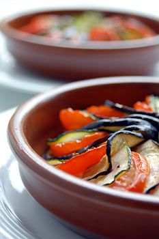 Ratatouille = vegetarian / vegan simple French food.  Want to make this weekend!