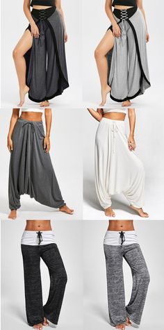 Women Pants,Harem Pants,Palazzo Pants,Yoga Pants,Wide Leg Pants